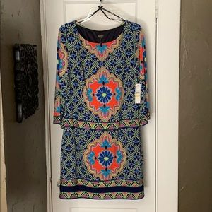 Multi-colored dress by Laundry